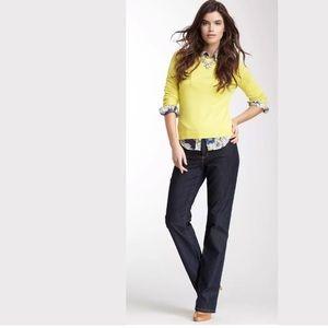NYDJ Marilyn Straight Leg Jeans Studded Pockets
